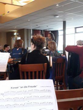 35 accordeonisten: een weekend samen musiceren